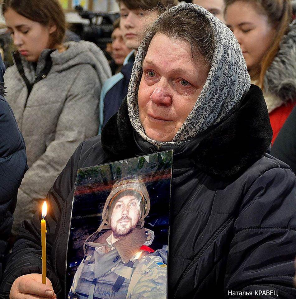 В Баришівському районі священник виганяє із церкви родичів загиблого атовця -  - 69836838 100901854623566 1117778540297715712 o