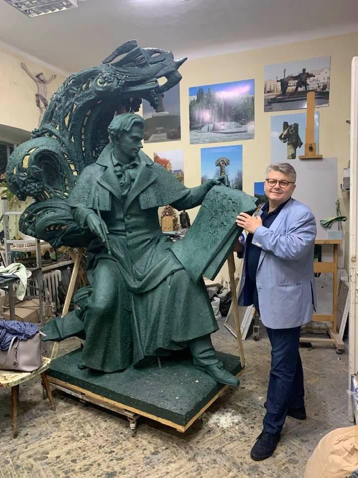 У Флоренції встановлять пам'ятник Тарасу Шевченку -  - 80695161 2519975654722560 8342495955504857088 n