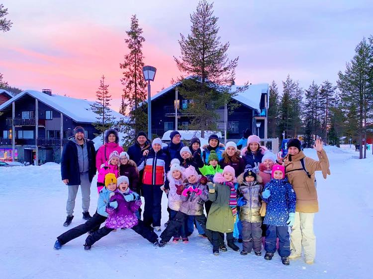 """""""Фаворитівці"""" у Фінляндії: як відпочили на канікулах юні обухівські танцюристи -  - 81371268 2228575120576960 3816100930944761856 n"""