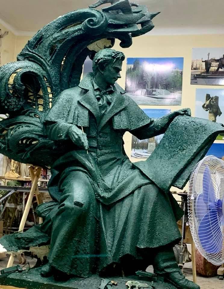 У Флоренції встановлять пам'ятник Тарасу Шевченку -  - 81488888 2519973084722817 8886995403732418560 n