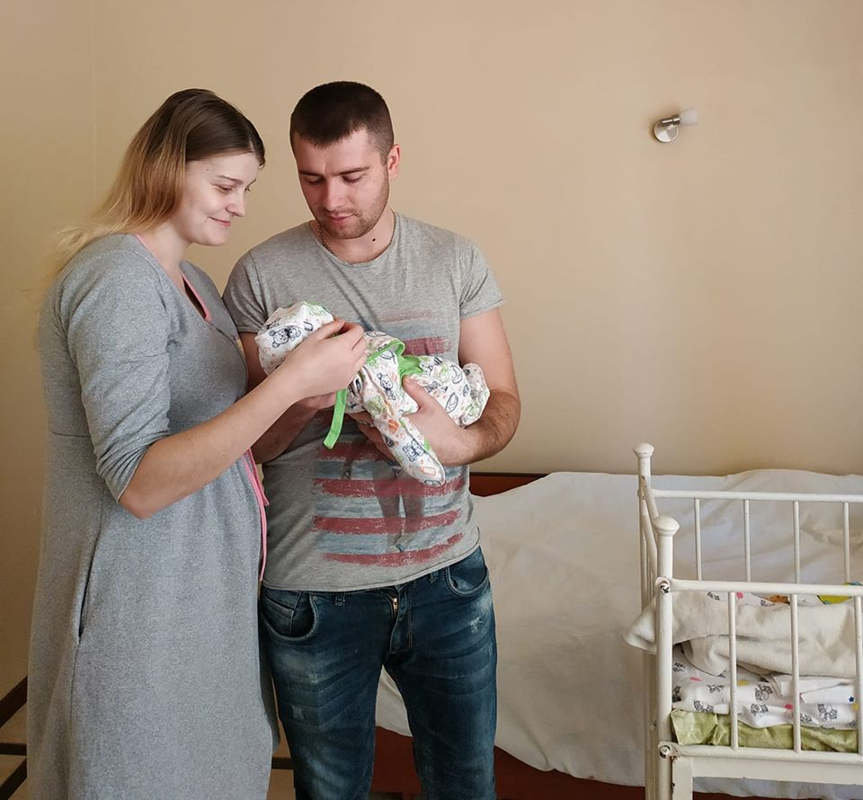 На Миронівщині первісток народився 6 січня -  - 81540681 2675104669252360 6989716020453703680 o