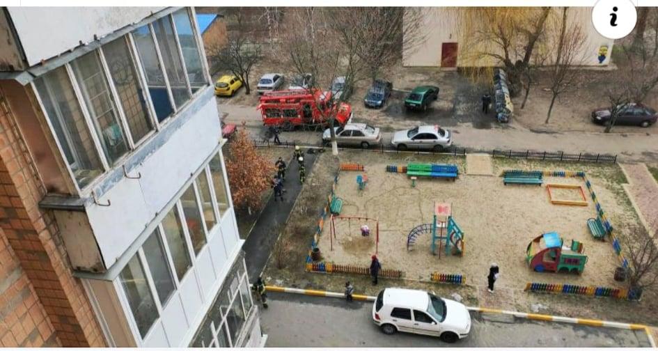 Рятувальники Обухова загасили пожежу на балконі багатоповерхівки -  - 81706555 522765831661256 3666837588909490176 n