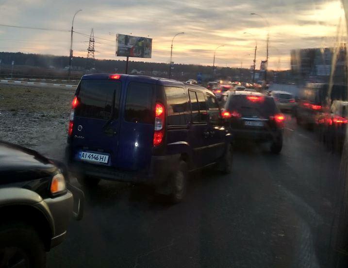 Рух із Ірпеня до Києва ускладнено через серйозну ДТП -  - 81964637 616920169134819 3160748909383385088 o