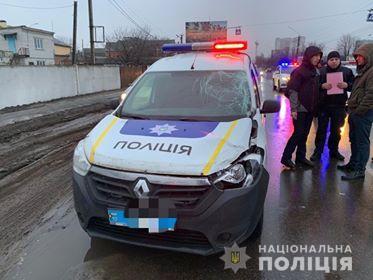 У Борисполі поліцейські на Renault Doker насмерть збили пішохода -  - 82051104 2719413934780428 1235177240791089152 n
