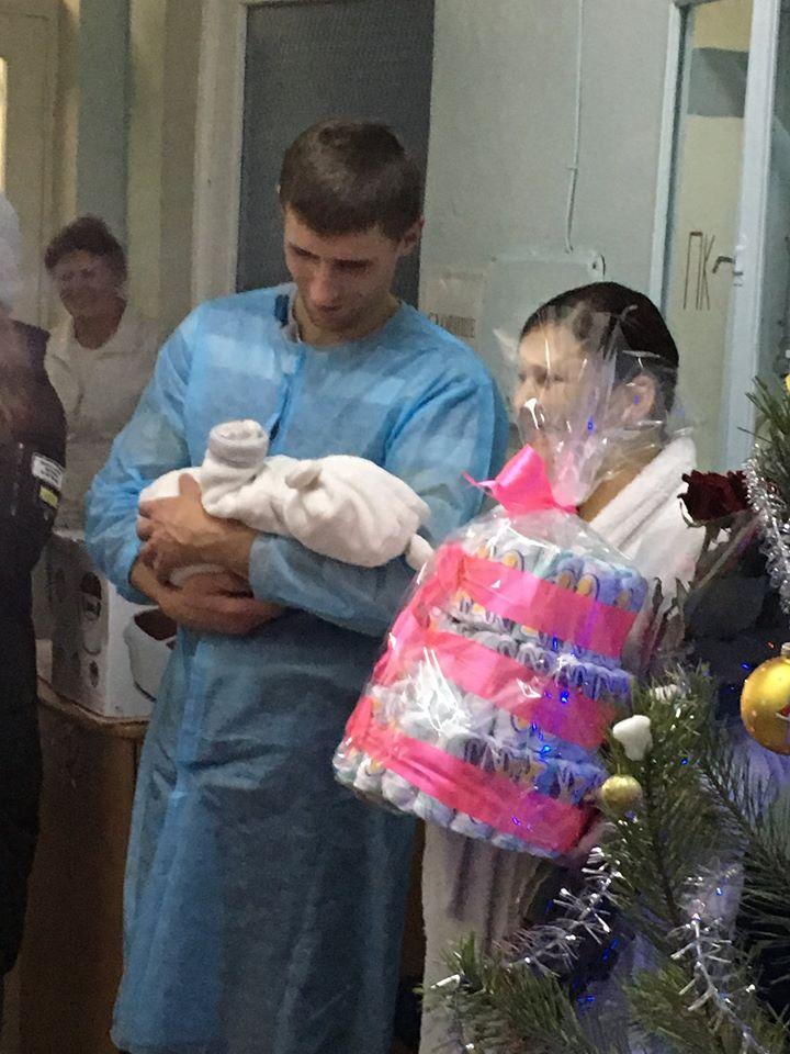 У Борисполі в 2020-му першою народилася дівчинка -  - 82099932 2576870589101818 3745234344222916608 o