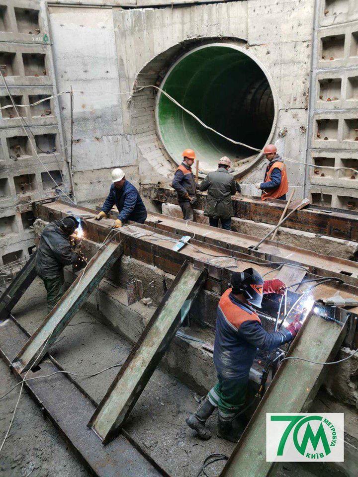 Київ розпочав реконструкцію Бортницької станції аерації -  - 82230738 2736215653112539 2848186164815331328 n