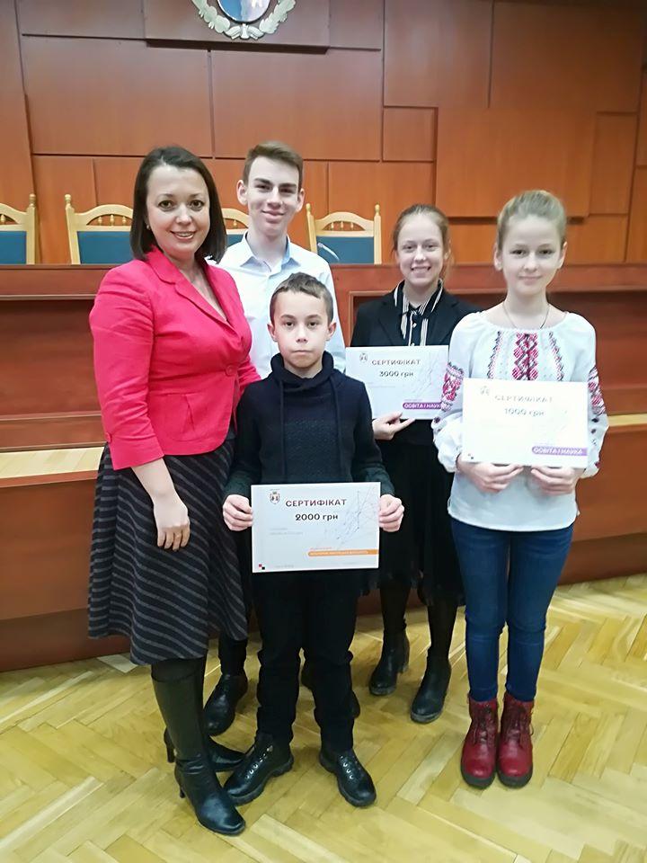 Талановиті й обдаровані: у Вишгороді відзначили досягнення дітей і молоді -  - 82261660 2929645930413577 5963707341994983424 n