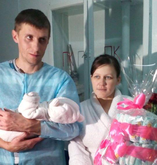 У Борисполі в 2020-му першою народилася дівчинка -  - 82304430 2576870692435141 337670208552435712 o
