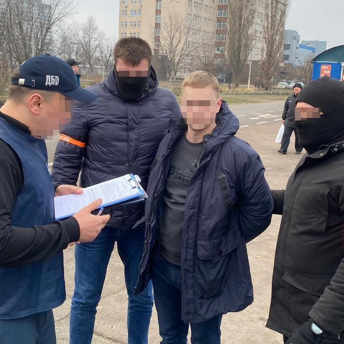 У Києві старшого слідчого затримали на хабарі -  - 82374612 3118958284782179 6382210260987281408 n