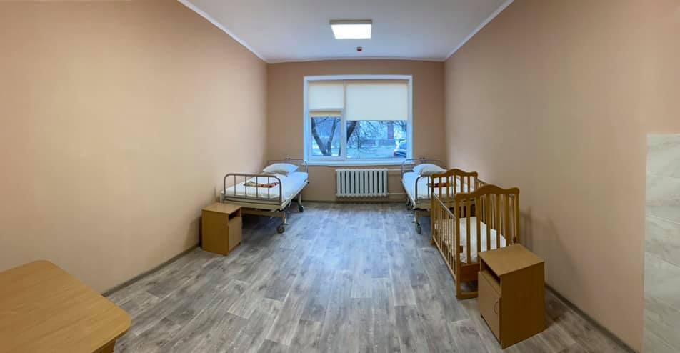 В Українці відремонтували дитяче відділення -  - 82431504 1424405521070775 6170611009158381568 n