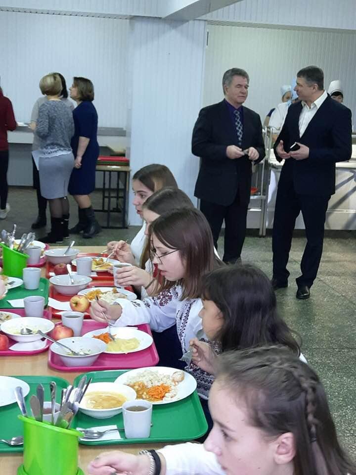 Перша Білоцерківська гімназія вперше в місті впровадила мультипрофільне харчування - Біла Церква - 82467482 2582873978655726 6067229260853018624 n