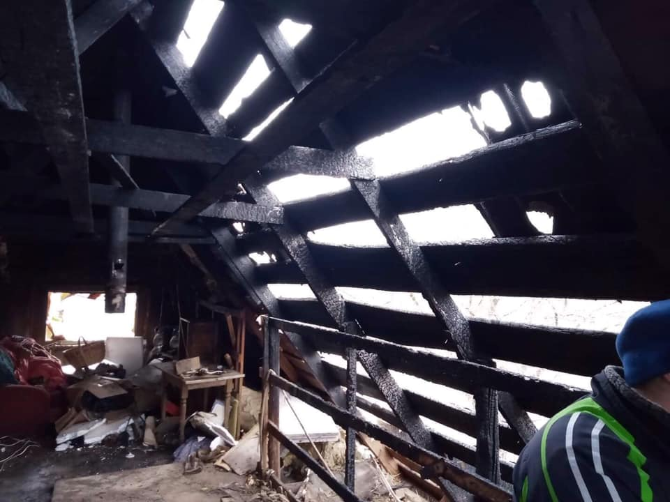 На Бориспільщині пожежа знищила житловий будинок -  - 82479997 2770213966376991 8892416966719963136 n