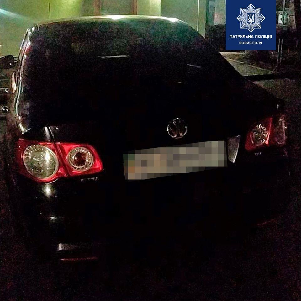 У Борисполі виявили водія ступінь сп'яніння якого перевищував допустиму норму у 25 разів -  - 82515911 2593284387560014 8921729014708568064 o