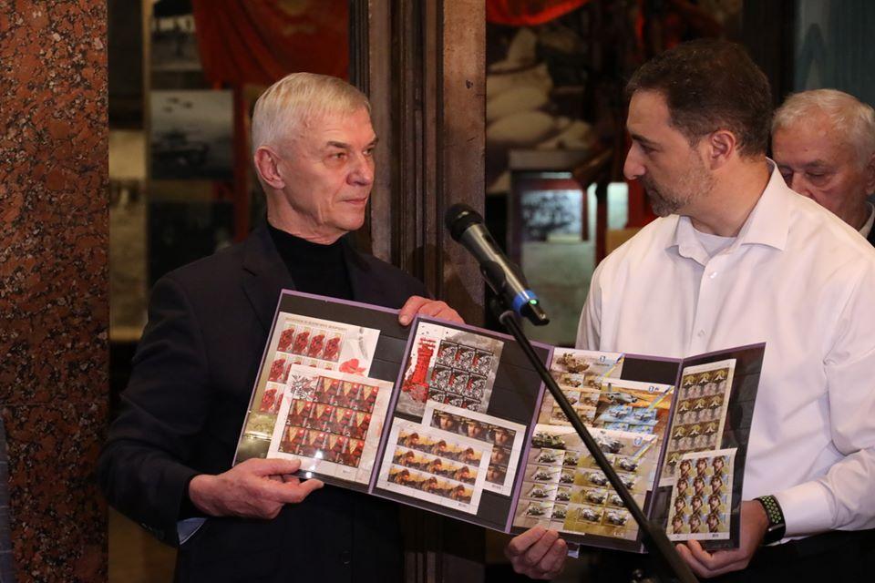 Урочисте спецпогашення марки, присвяченої кіборгам відбулося у Києві та Слов'янську -  - 82593774 2638426232936862 5904525385600598016 o