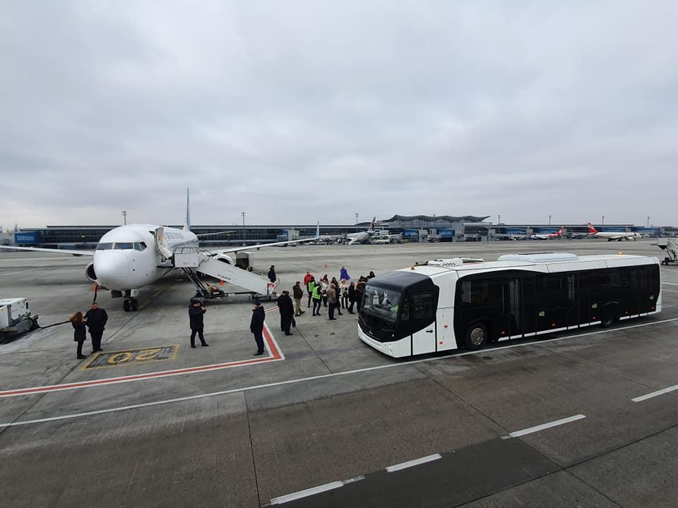 В аеропорту «Бориспіль» запустили бас-гейти і перонний автобус -  - 82778108 2804651349578144 9068487136679821312 n