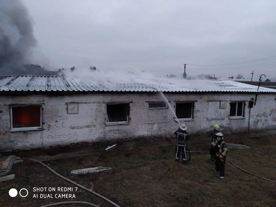 На Білоцерківщині горів швейний цех -  - 82788198 2985730271445781 4969353272587452416 o