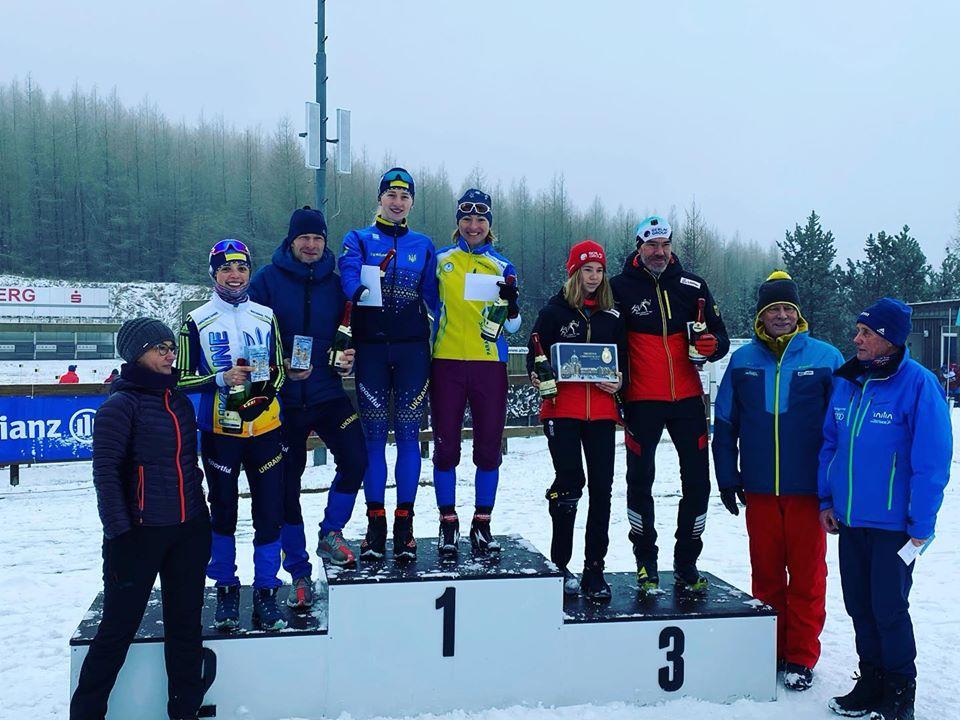 Біатлоністи з Броварів - переможці та призери етапу Кубку світу -  - 82908622 2738476369566401 4173427808946618368 o