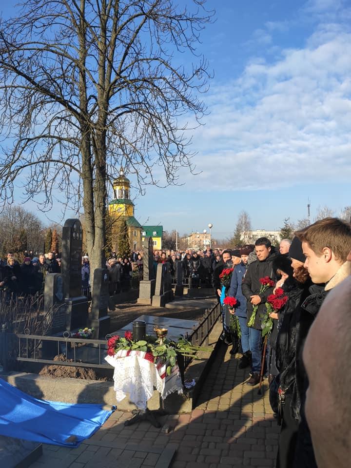 У Борисполі попрощалися із Сергієм Хоменком, пілотом трагічного рейсу Тегеран-Київ -  - 83069888 2927743983924632 4868780003396943872 n