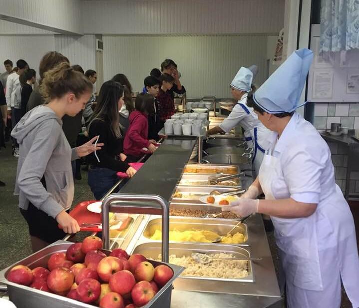 Перша Білоцерківська гімназія вперше в місті впровадила мультипрофільне харчування - Біла Церква - 83262987 2582874515322339 6317487783896154112 n