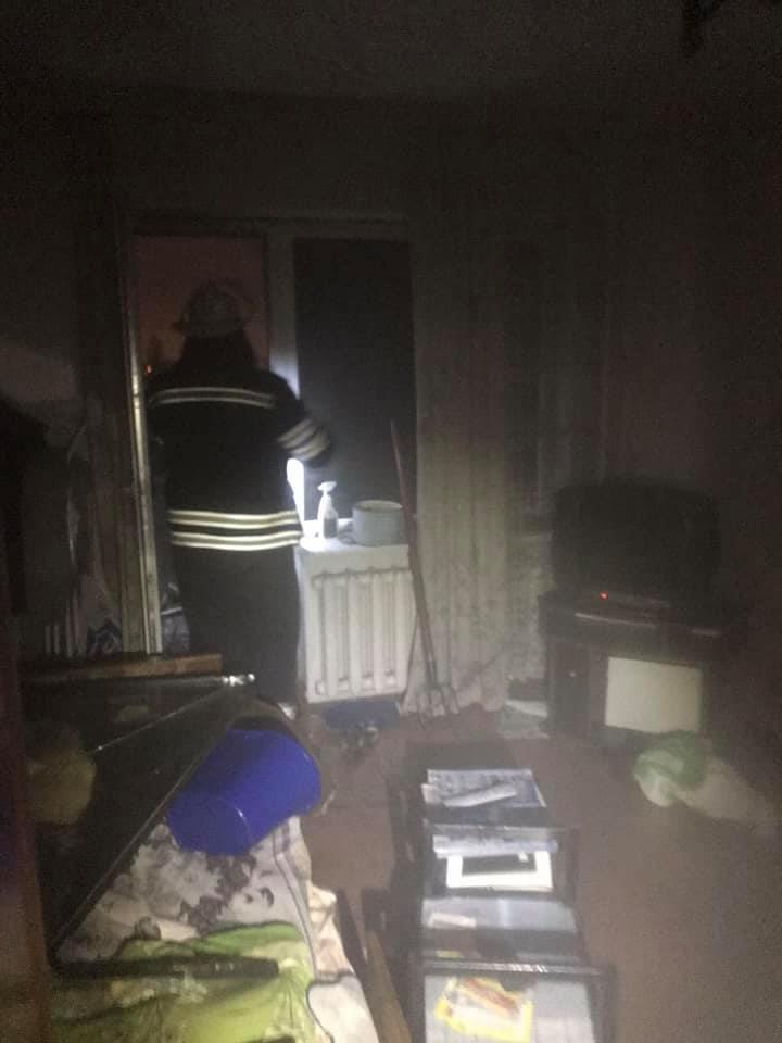 У Броварах в багатоповерхівці сталася пожежа -  - 83322036 1498660106950897 1423222002910494720 n