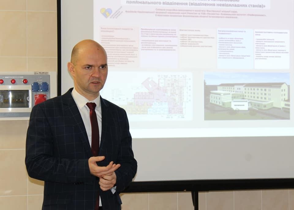 У колишній залізничній лікарні Фастова планують реалізувати пілотний проєкт - Медицина - 83388803 1216358505224043 5249732646090571776 n