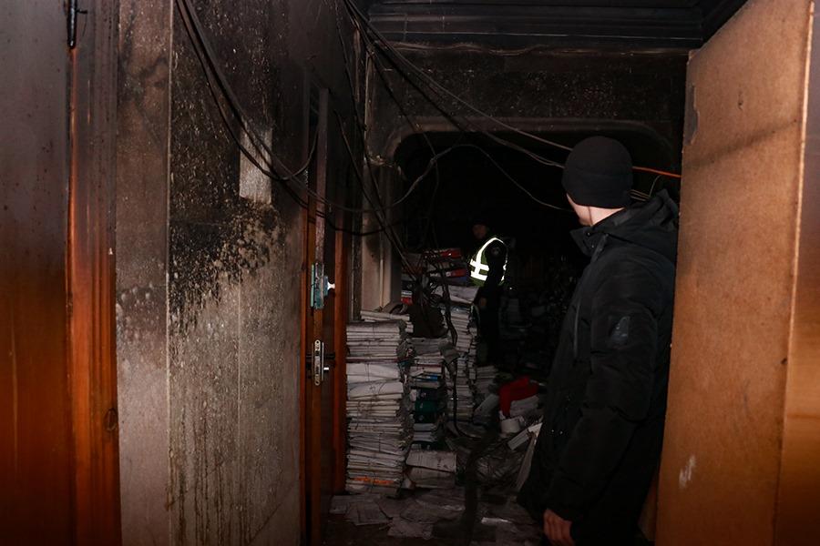 83390216_2846176098737615_4533575045942870016_n Відомо, через що загорілася будівля Міністерства культури