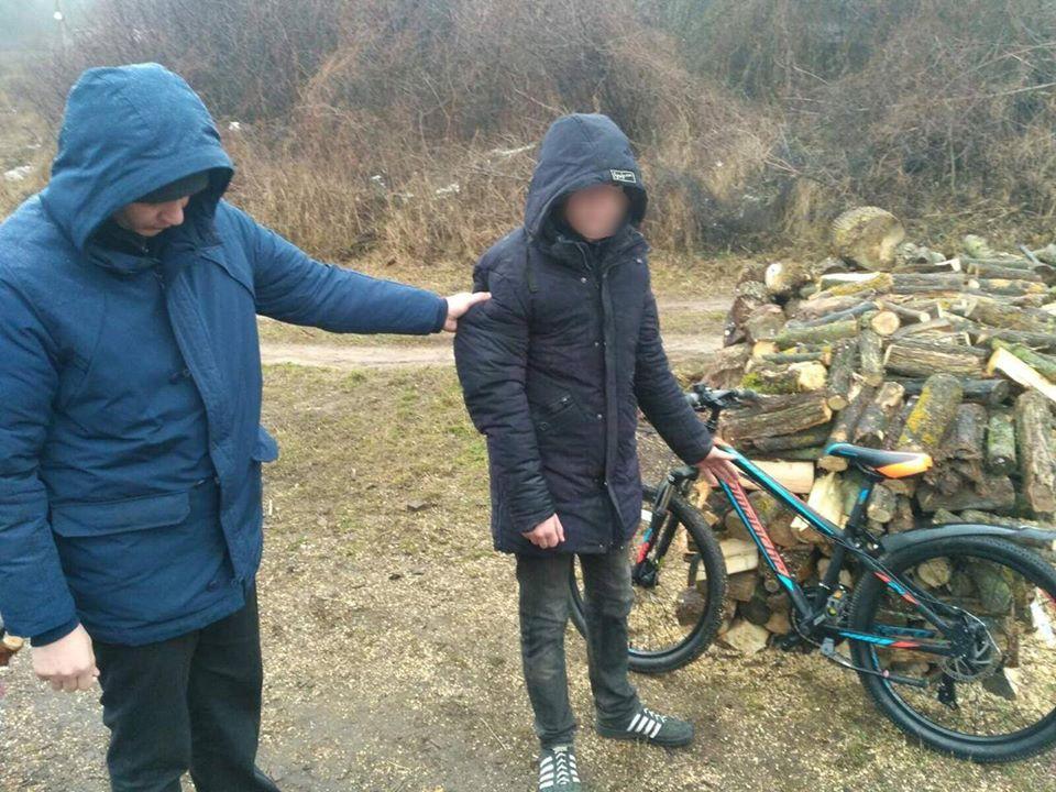 За крадіжку велосипеда на Васильківщині юнаку загрожує до 6 років позбавлення волі