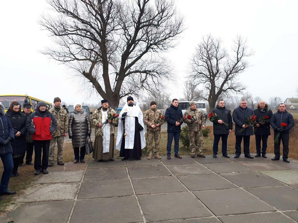 У Літках на Броварщині вшанували загиблих у 1918 році військових студентів -  - 83989945 611834609379821 2538054762578837504 o