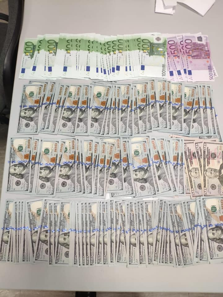 За січень 2020-го київські митники вилучили понад 2,2 мільйони гривень незадекларованої валюти -  - 84573631 2879110248816418 3974260735092981760 n