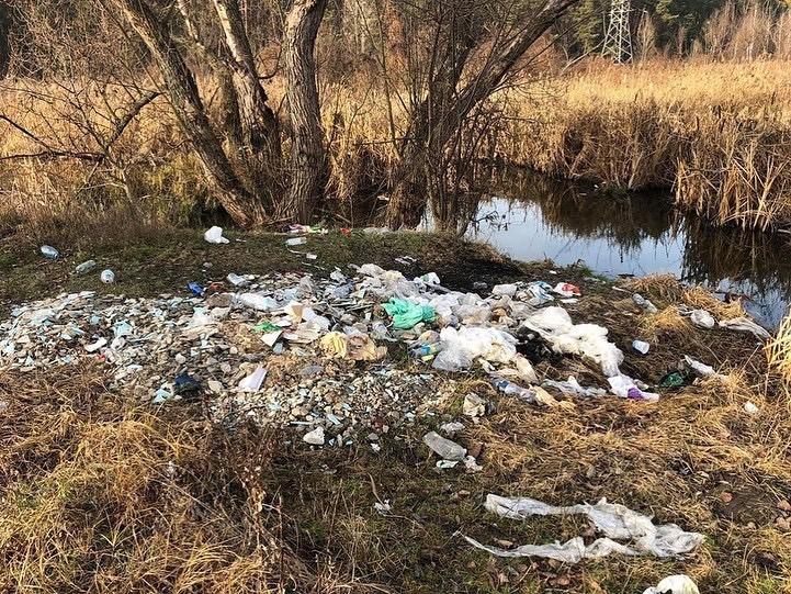 У Києво-Святошинському районі нищівно забруднюють річку -  - 8A9942E7 0BDE 4D3C 8DAC 40B1E598B36B