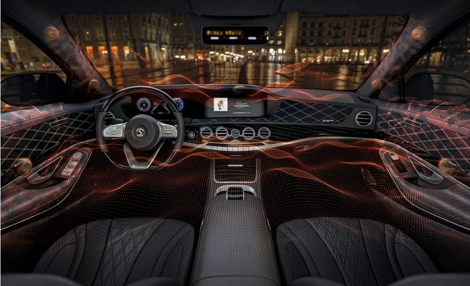 Революційна новинка: музику в авто відтворять двері, дах і пластик -  - Avto