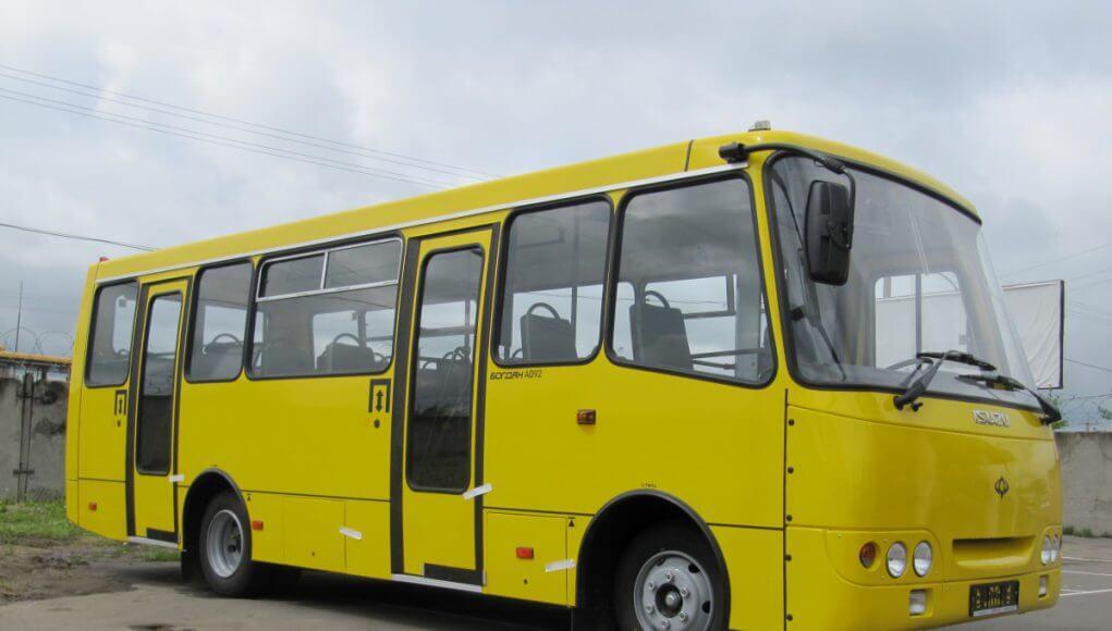 У Фастові відбудеться конкурс серед перевізників на чотирьох міських маршрутах - Фастів, конкурс серед перевізників - Bogdan A09204 1021x580