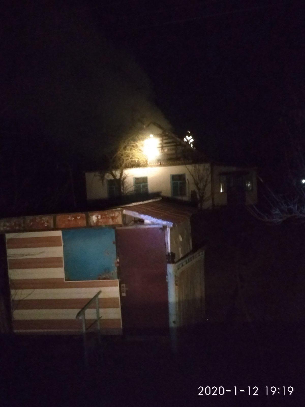 У Баришівському районі горів житловий будинок -  - CCF7B3E4 35C3 45A4 9304 AB1E6B0B25AD