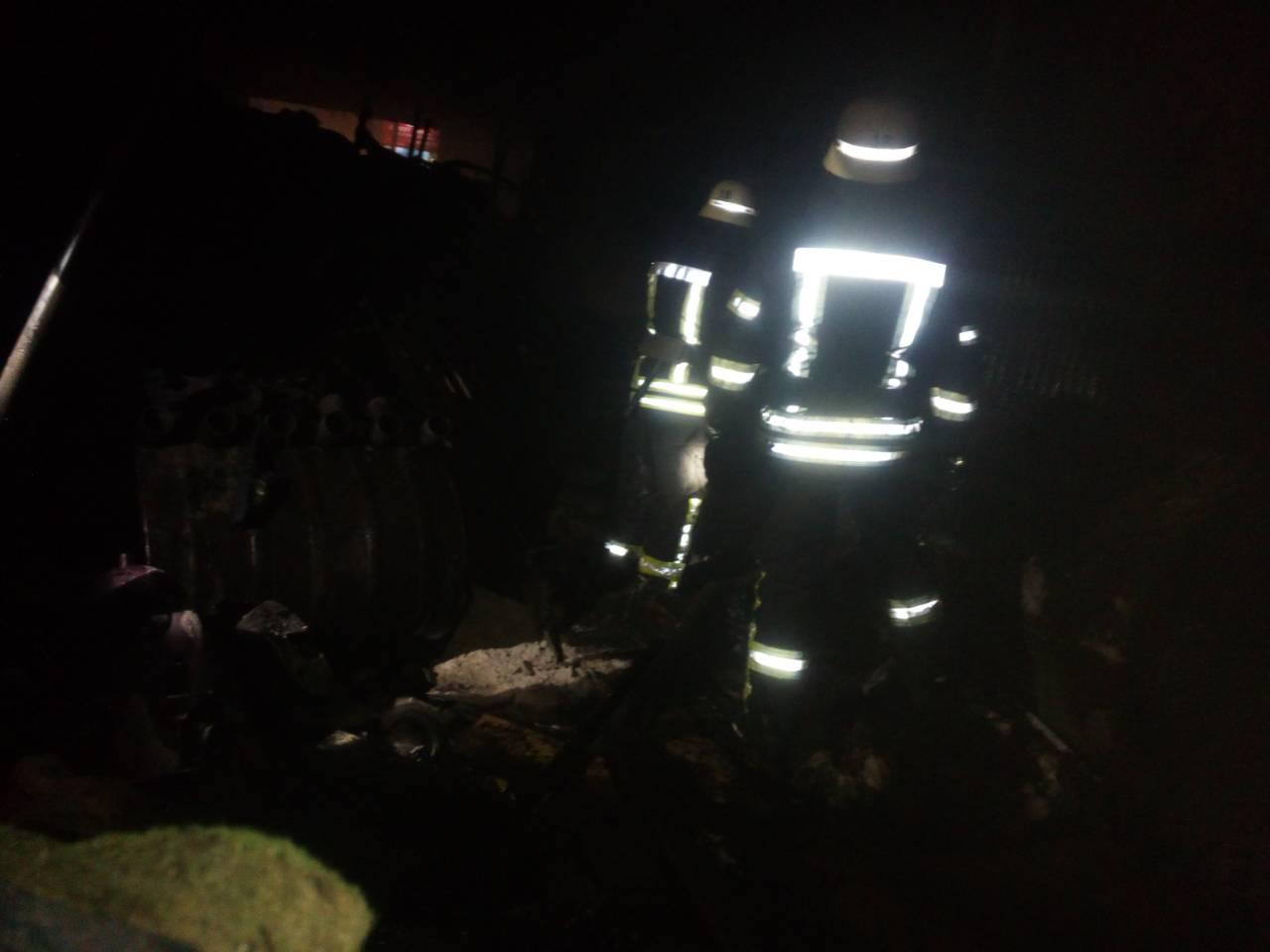 У Софіївській Борщагівці згоріла мийка -  - FFDA17F1 44B6 4F3F 8E9B 164A481F6043