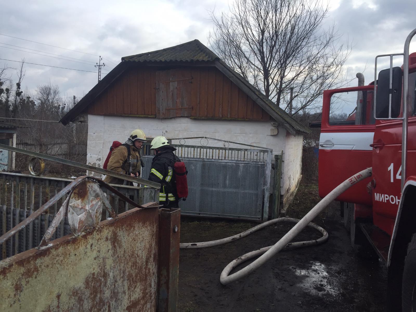 На Миронівщині ліквідували загоряння житлового будинку та господарчої будівлі -  - IMG 2518c5b388476cdf716a059b64ee3b97 V