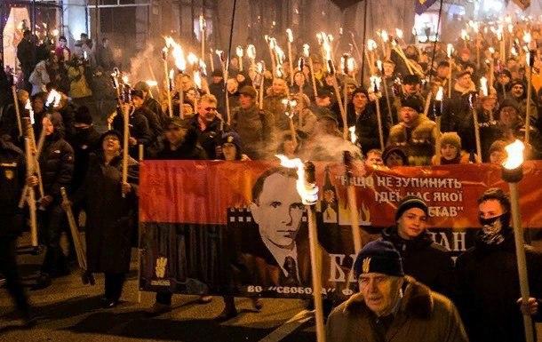 День народження Бандери: націоналісти збираються на щорічний марш у Києві -  - IMG 20200101 125100 531