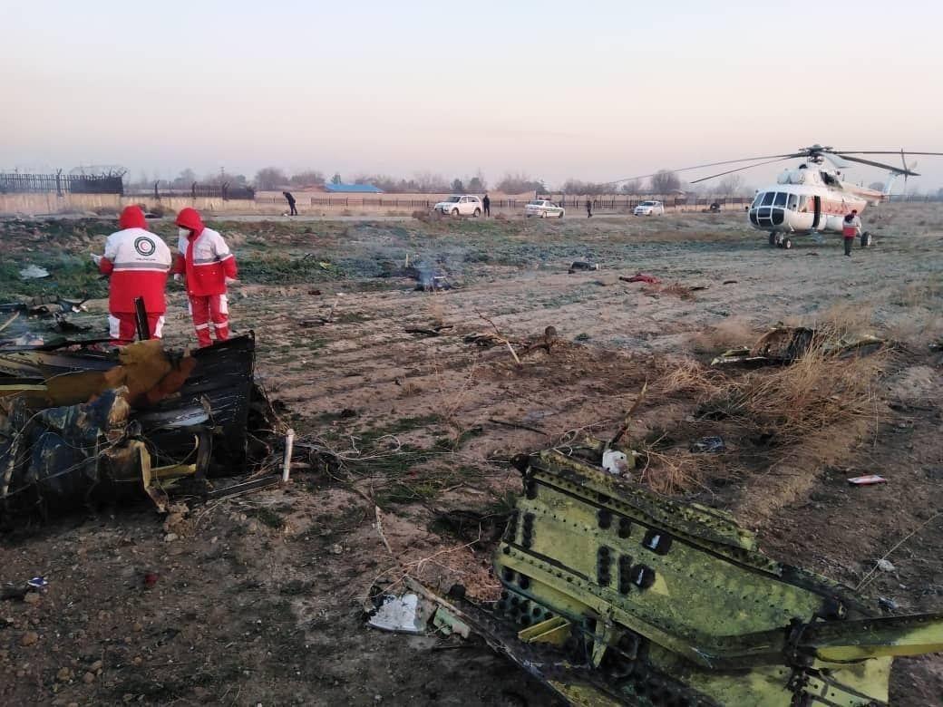 В Ірані розбився літак Міжнародних українських авіаліній -  - IMG 20200108 072508 168