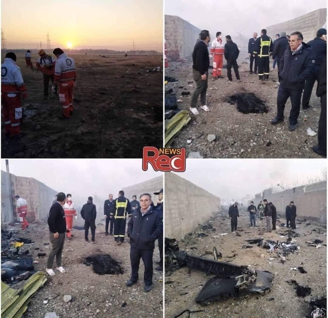 В Ірані розбився літак Міжнародних українських авіаліній -  - IMG 20200108 073844 312