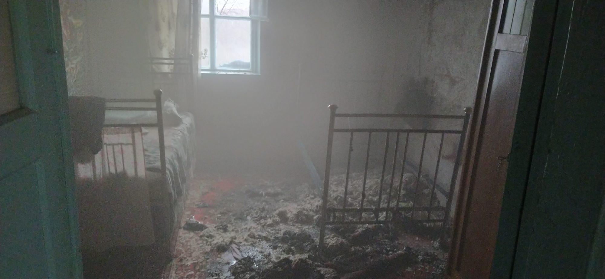 На Білоцерківщині загорівся будинок 30.01.2020 - пожежа, ДСНС - IMG 20200129 102857 2000x922