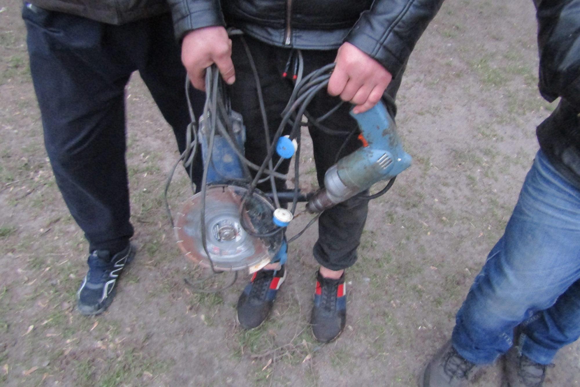 У Калинівці на Васильківщині упіймали грабіжника електроінструментів