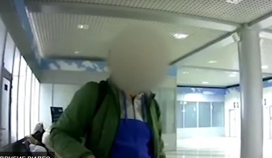 """Українець влаштував дебош в аеропорту """"Бориспіль"""" (відео) -  - Novyj rysunok 1"""
