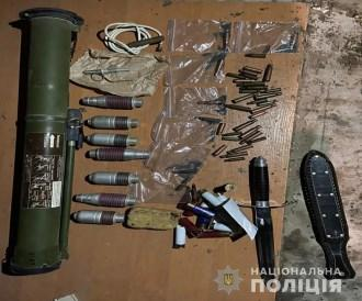 На Броварщині у чоловіка вилучили боєприпаси та вибухівку -  - Screenshot 1