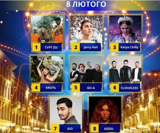Оголосили порядок виступів учасників Нацвідбору на Євробачення -2020 -  - Screenshot 11 3