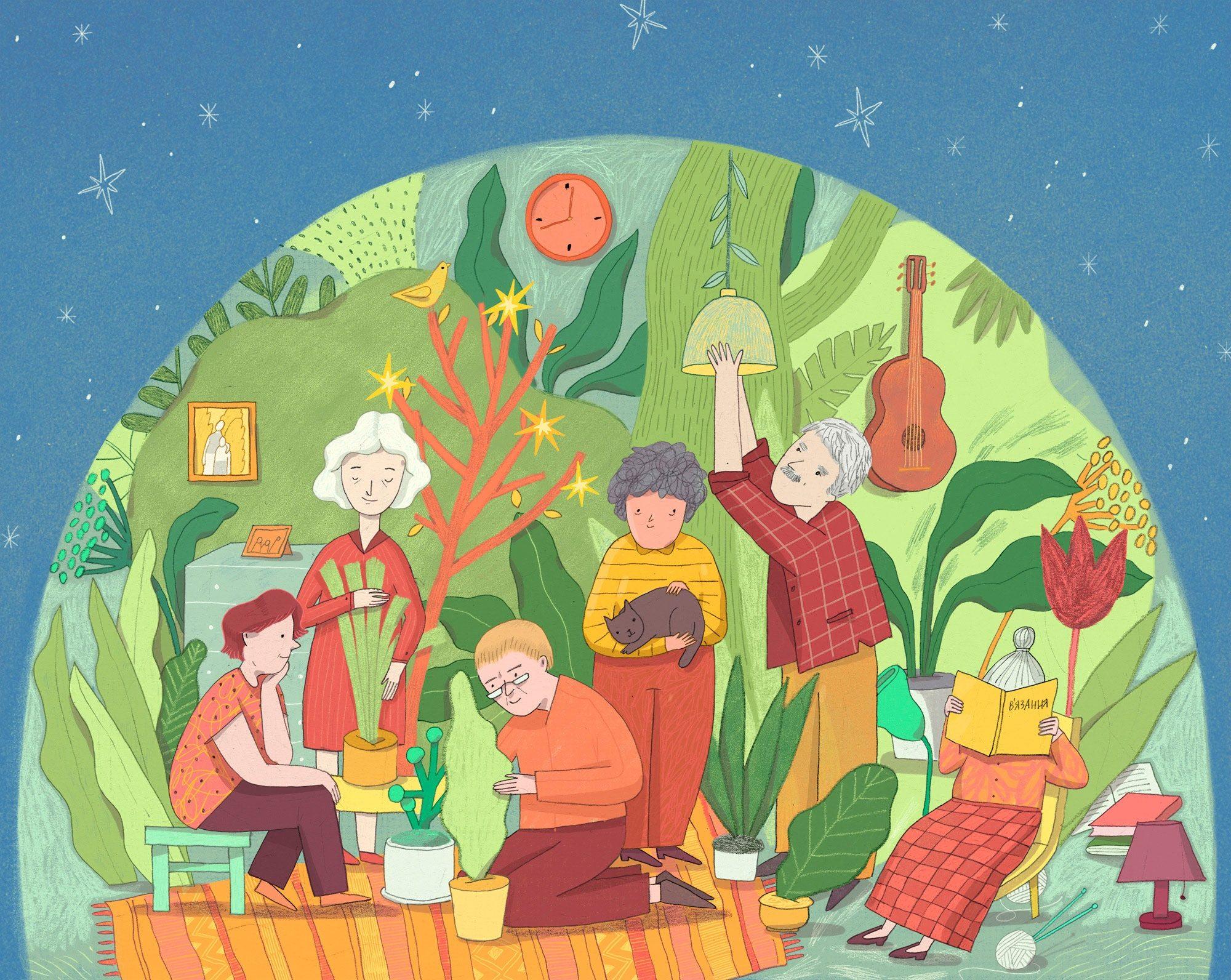 Ілюстраторка Євгенія Гайдамака: робота дає мені можливість досліджувати світ - Україна, світ - ZHenya5 2000x1592