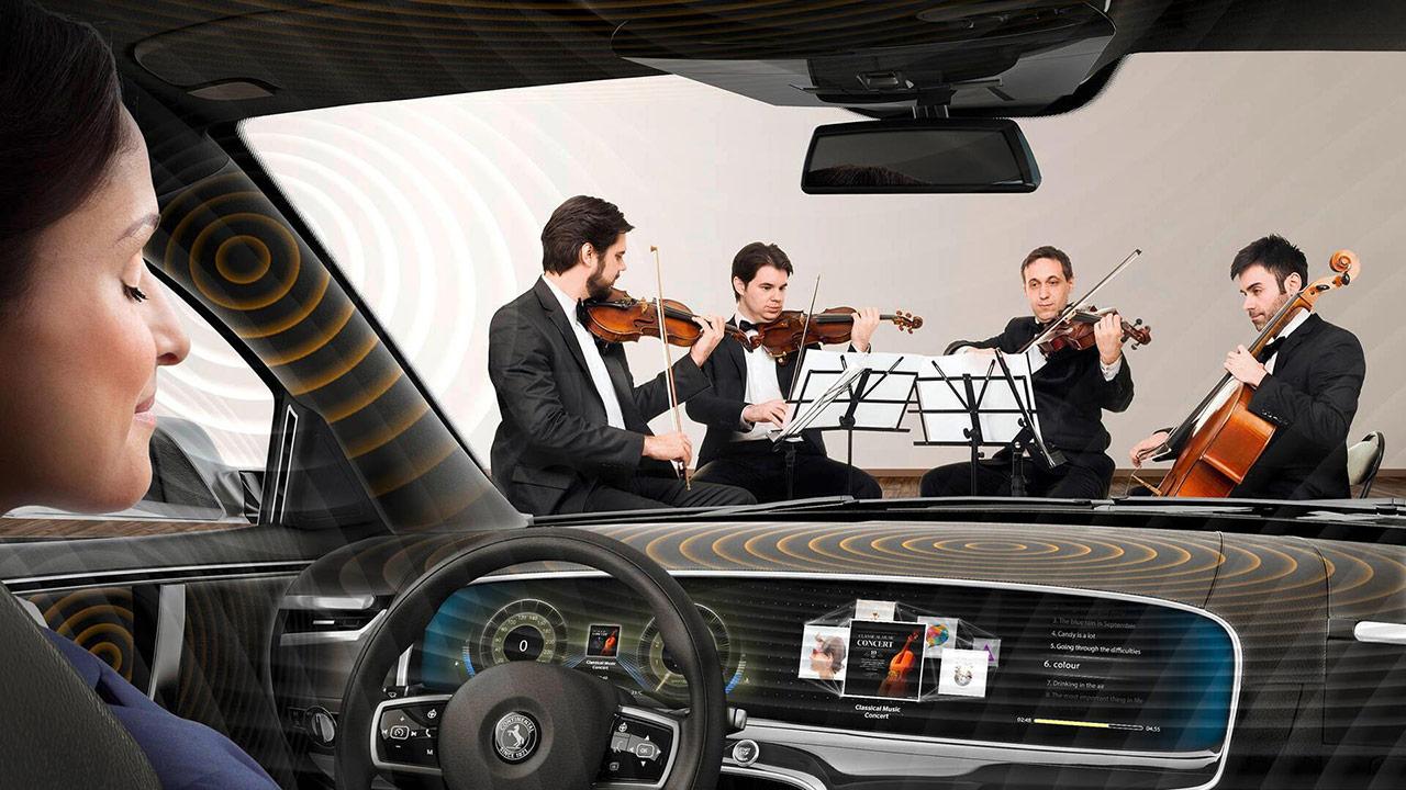 Революційна новинка: музику в авто відтворять двері, дах і пластик -  - continental ac2ated sound