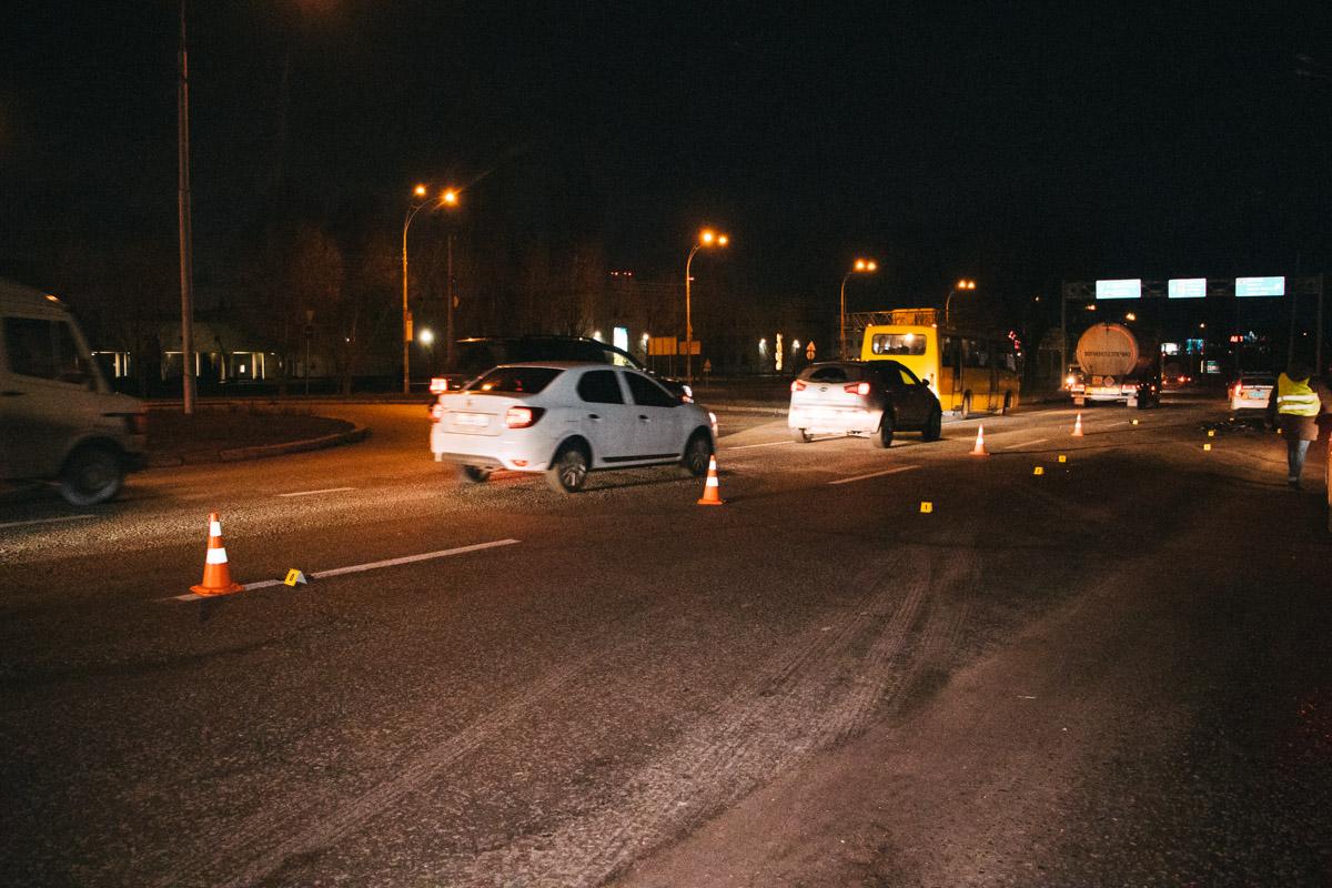 У столиці розшукують водія, який насмерть збив пішохода -  - dtp 2 11