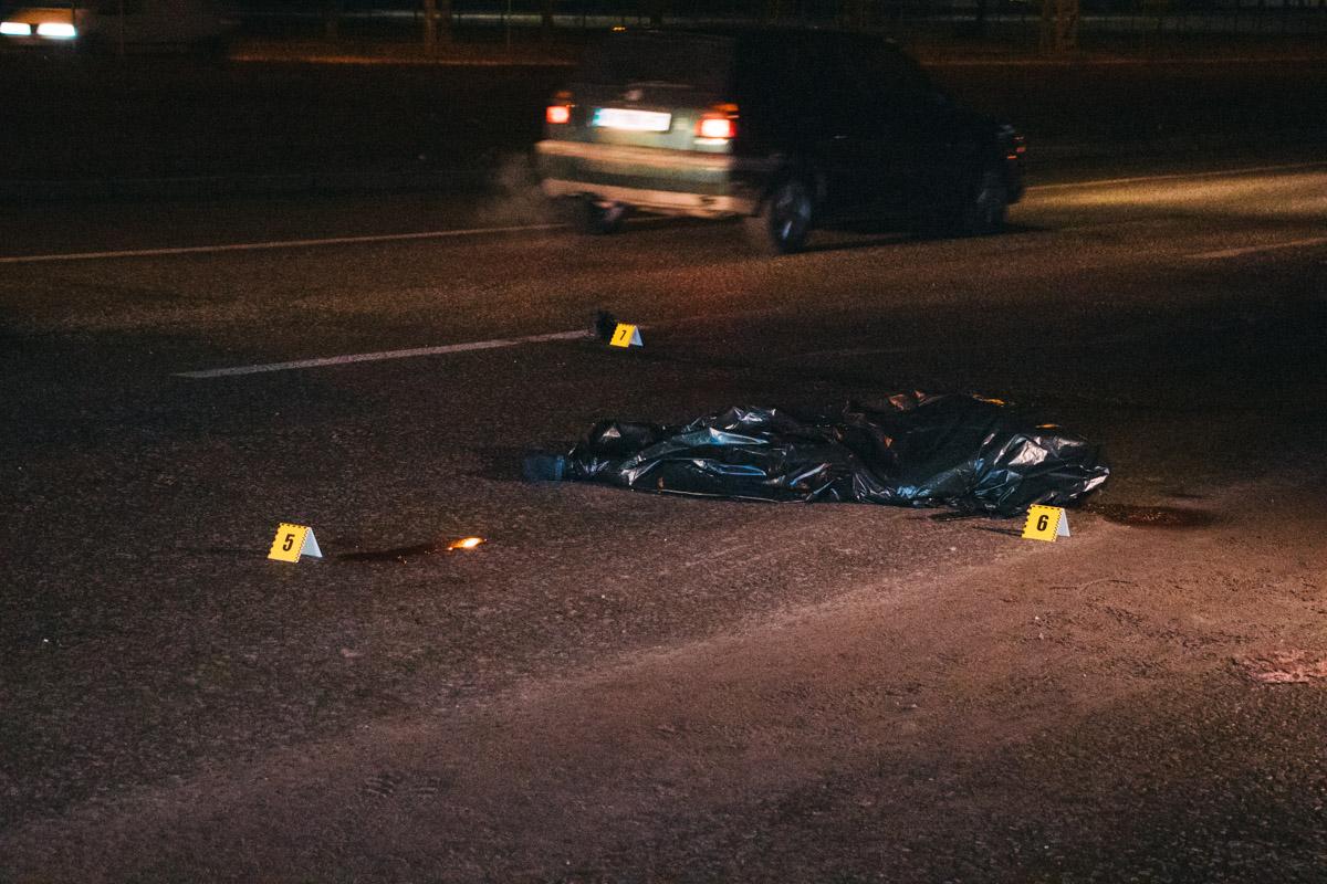 У столиці розшукують водія, який насмерть збив пішохода -  - dtp 5 10