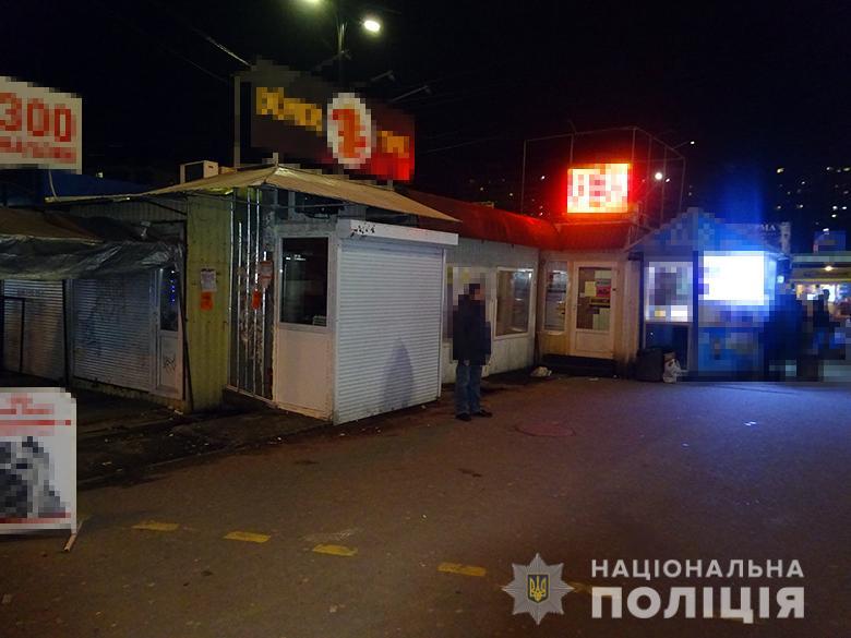 У Києві за грабіж затримали одесита -  - grabijsviatosh03012020