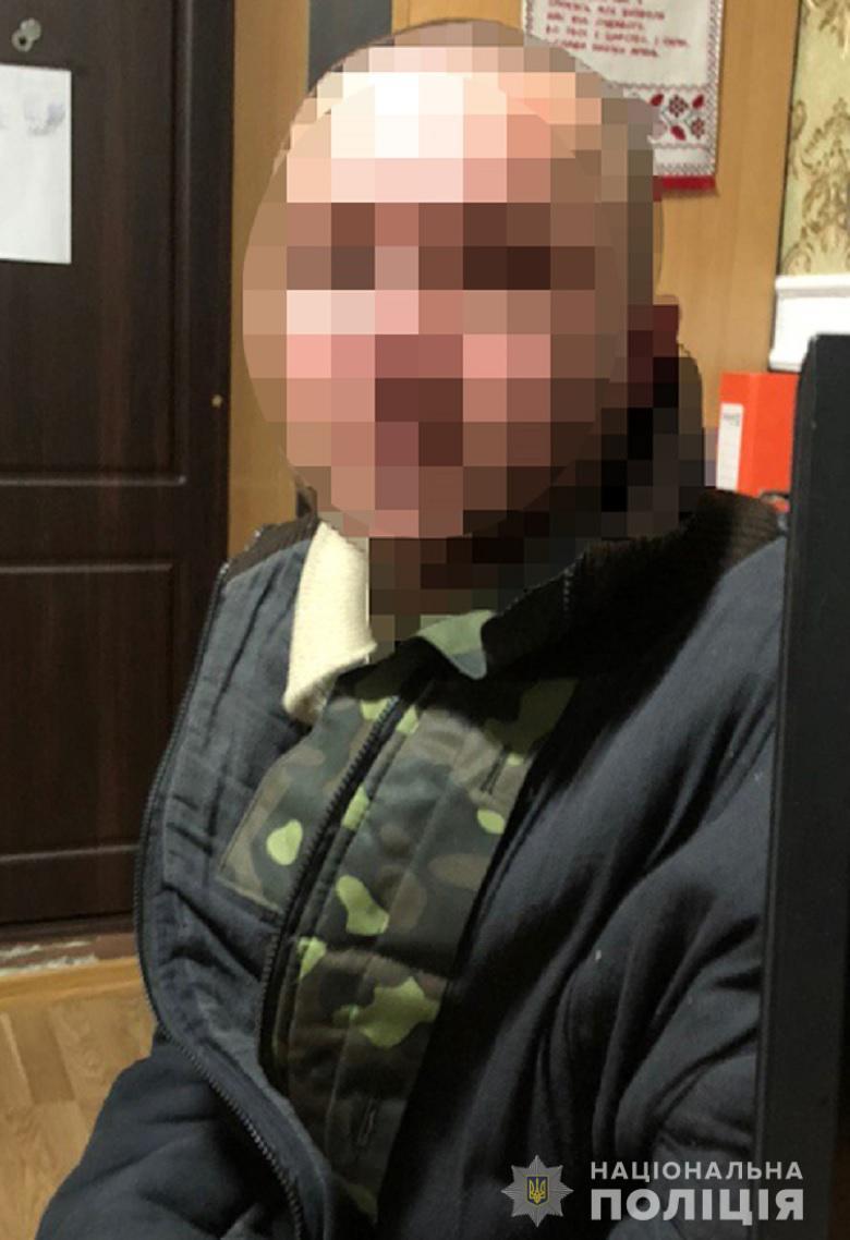 У Києві за грабіж затримали одесита -  - grabijsviatosh030120202