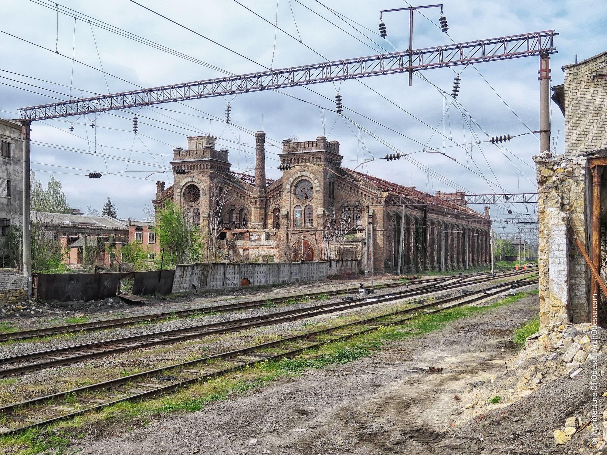 Одесити під великий простір викупили стару будівлю паровозного депо -  - krayan.locomotive department 72 2x 2000x1500